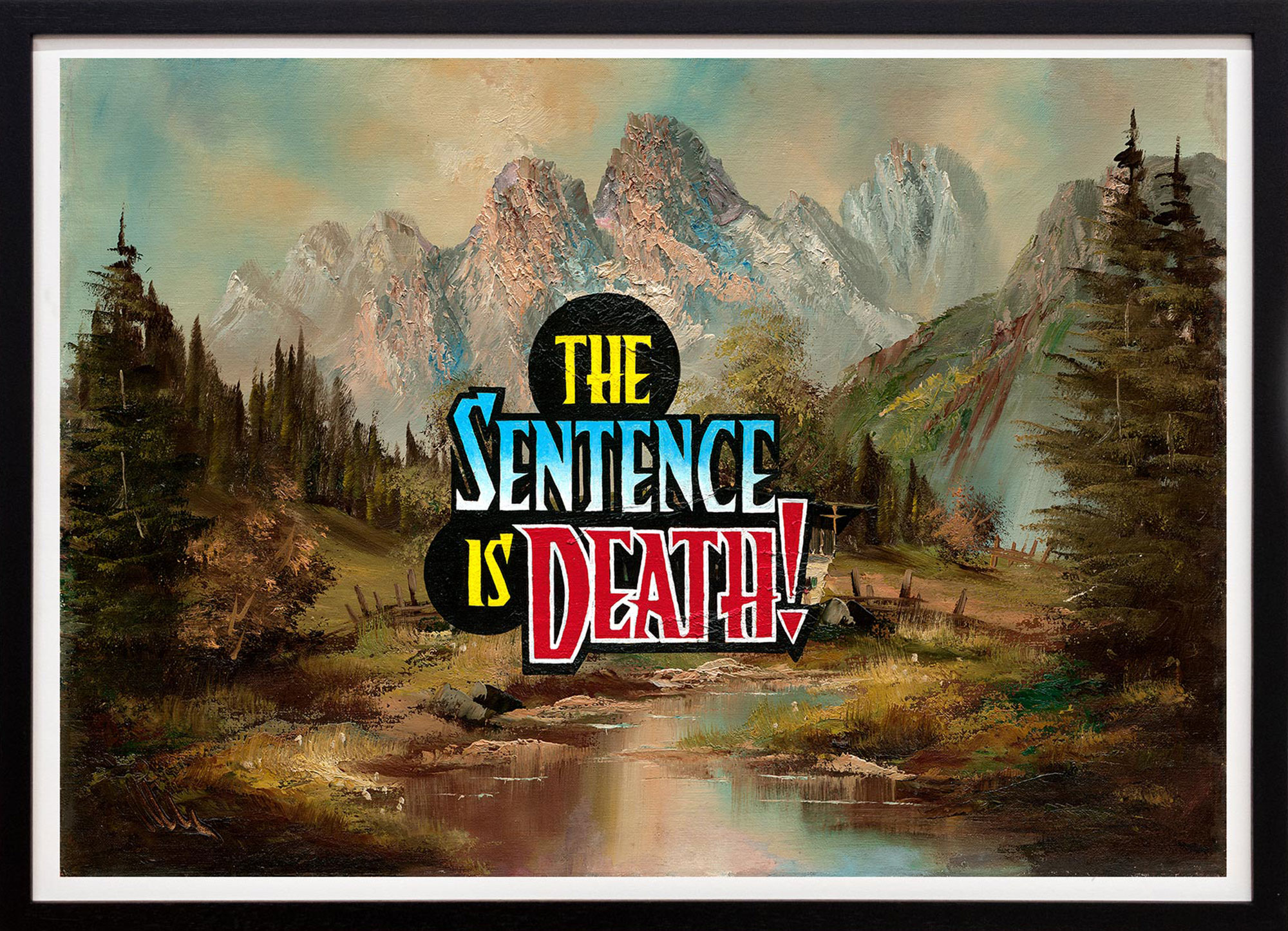 Elmar Lause 'The Sentence is Death'